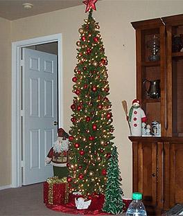 Pencil Christmas Trees Artificial