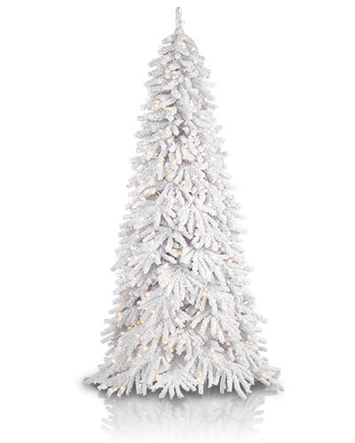 Frozen Fir Flocked Artificial Christmas Tree