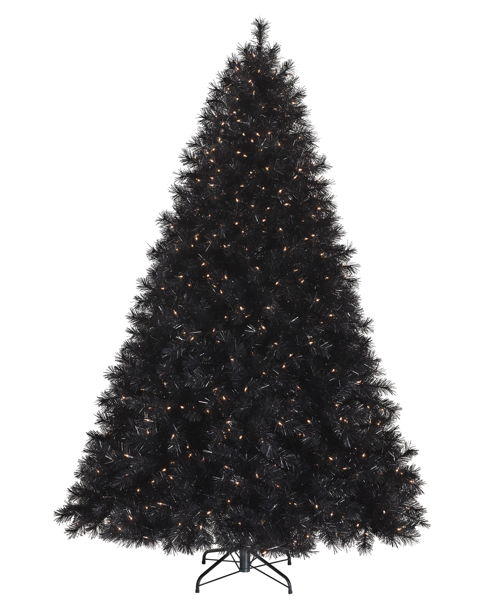 Unlit White Christmas Tree