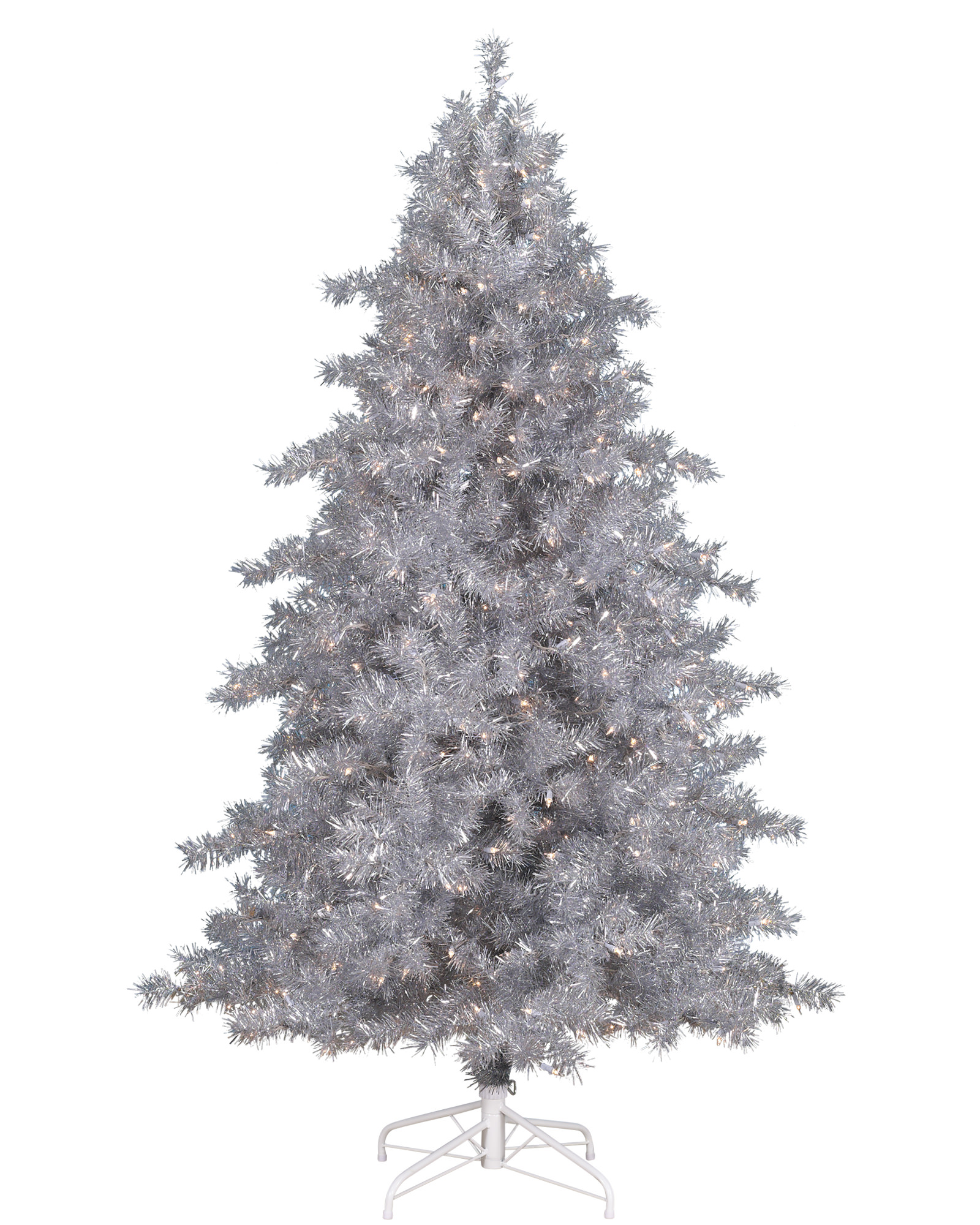 Tinkerbell Silver Christmas Tree Treetopia Uk