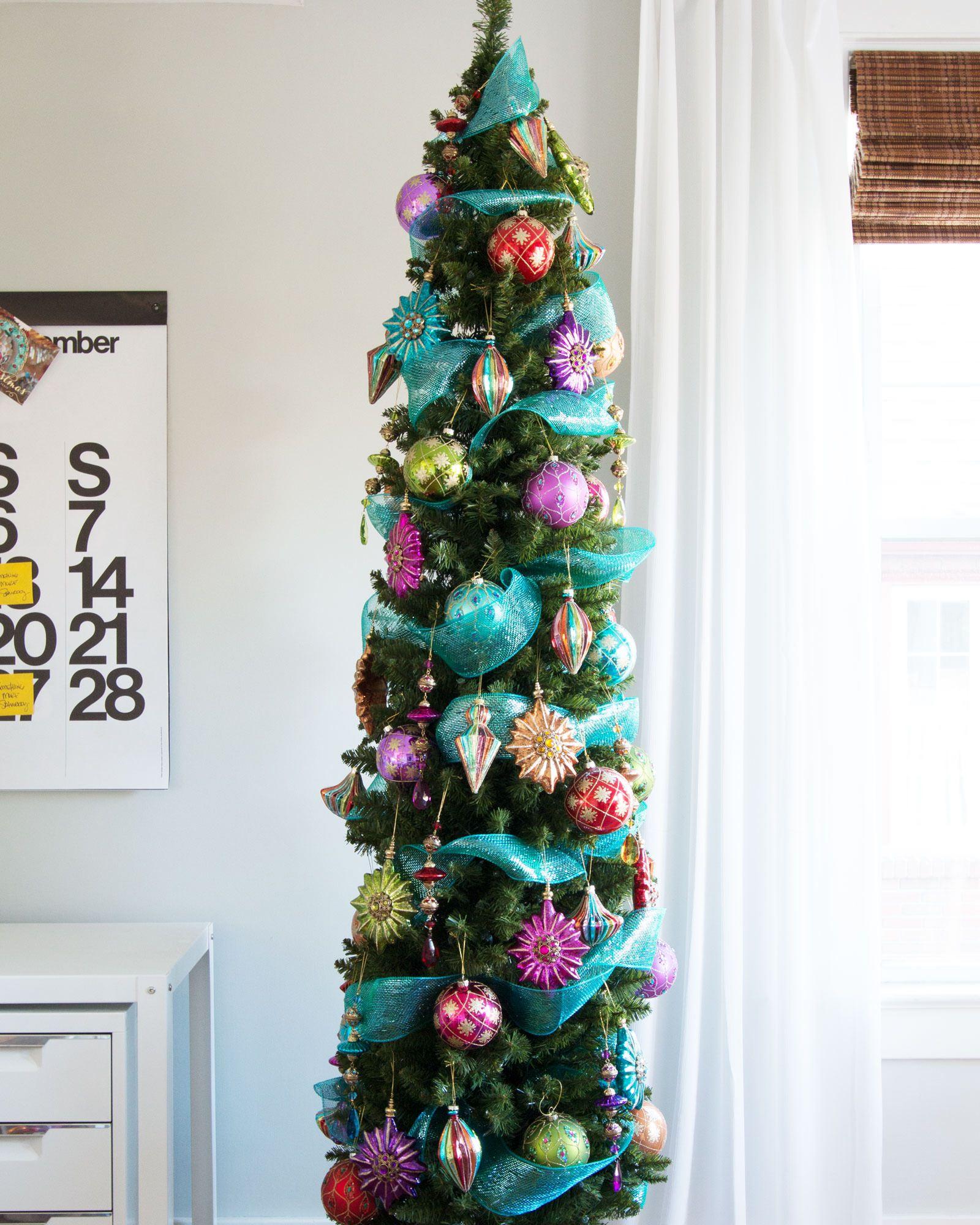 The Shard Pencil Artificial Christmas Tree   Treetopia UK
