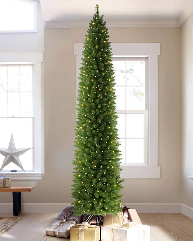 the shard pencil artificial christmas tree treetopia uk. Black Bedroom Furniture Sets. Home Design Ideas