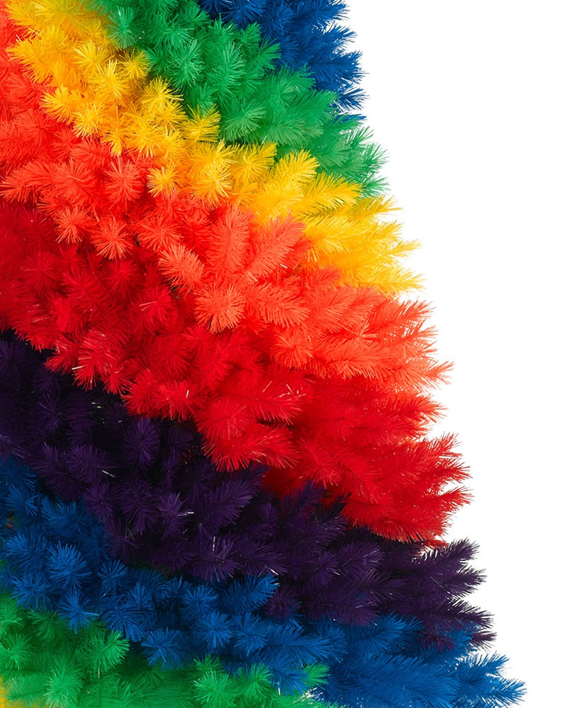 Rockin Rainbow Christmas Tree | Treetopia UK