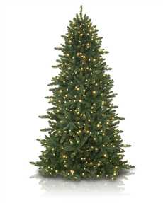 Slim Spruce Artificial Christmas Tree