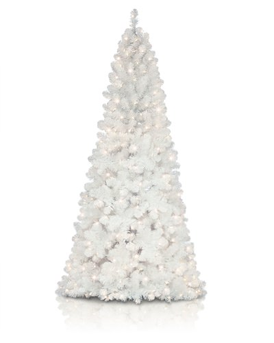 Wiley White Narrow Christmas Tree