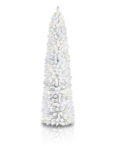 Skimmed Milk White Pencil Tree  <span>|7'|Pencil 19"