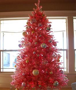 Pretty In Pink Christmas Tree Treetopia Uk