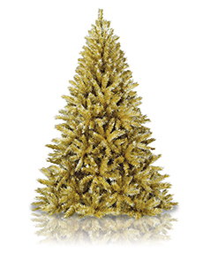 Toasted Champagne Gold Tree