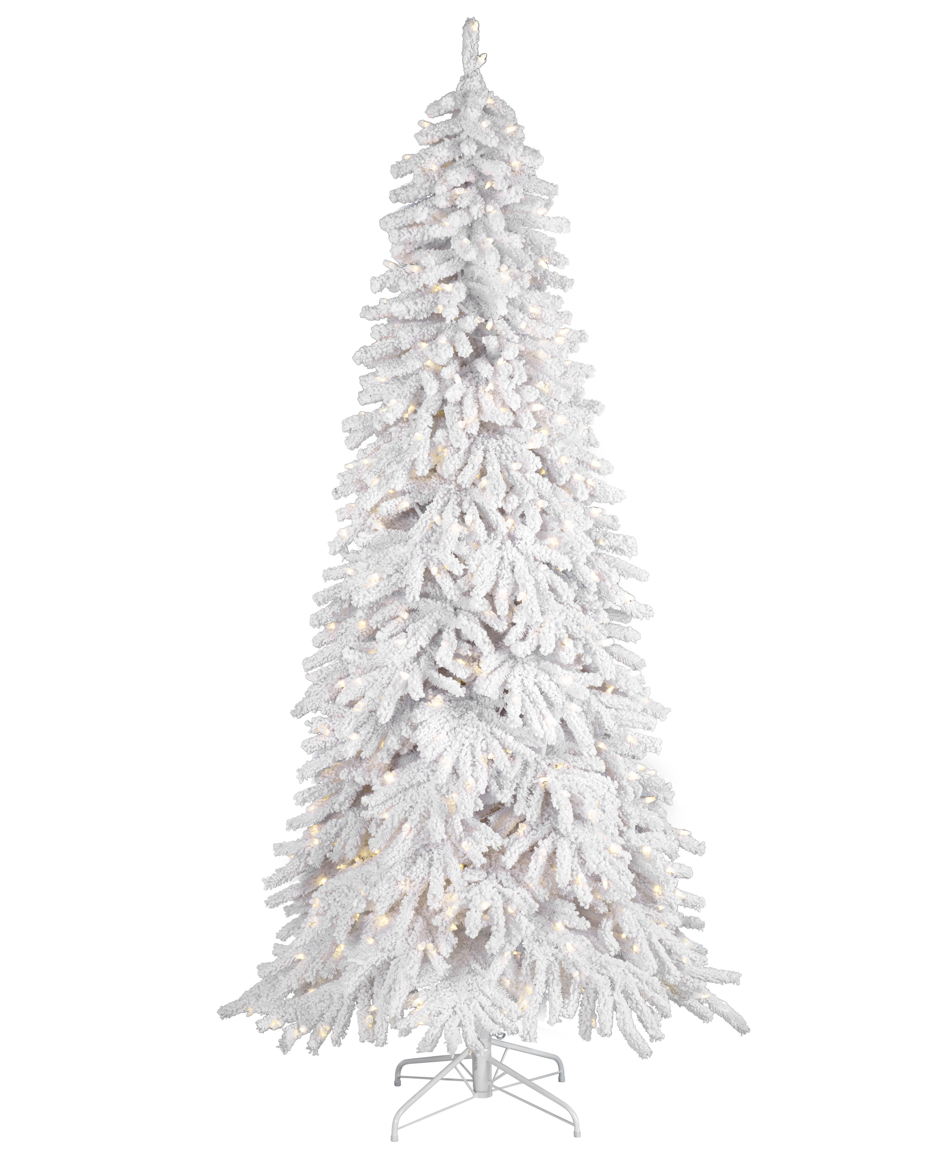 Frozen Fir Flocked Artificial Christmas Tree | Treetopia UK