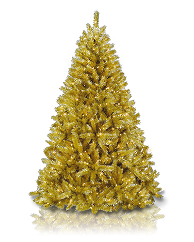 Toasted Champagne Christmas Tree