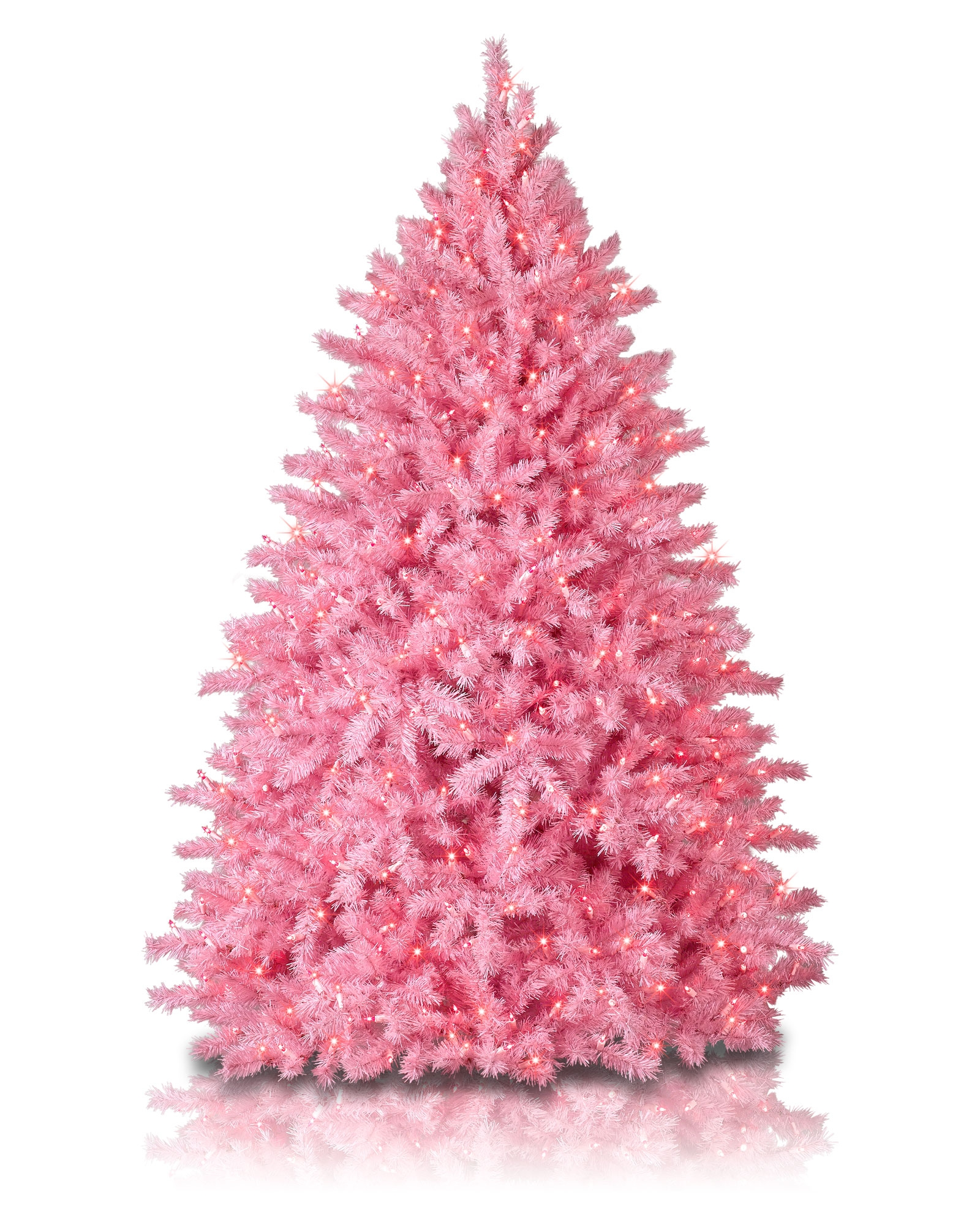 Pink Christmas Tree Decorations Uk.Pretty In Pink Christmas Tree Treetopia Uk