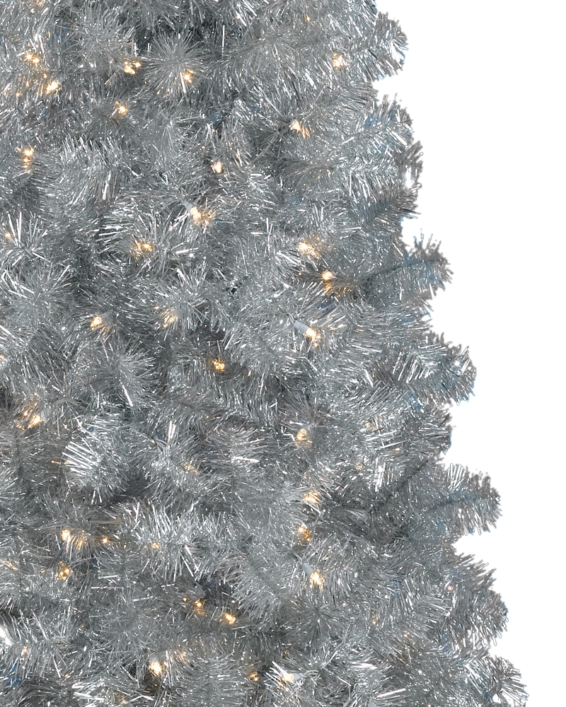 White Pencil Christmas Trees Sale