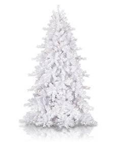 Moonlight White Christmas Tree <span>|7'|Slim 47"
