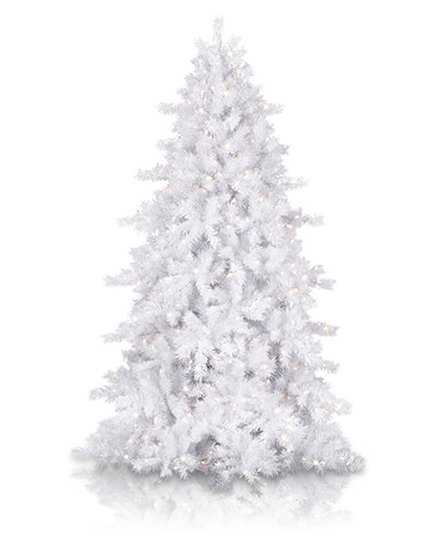 Moonlight White Christmas Tree